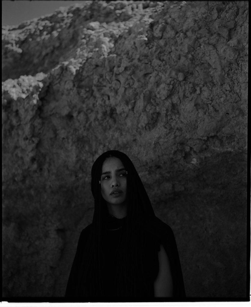 Diana in der Agafay Wüste