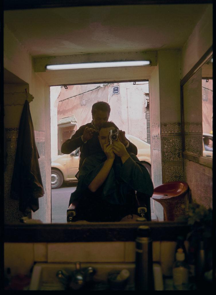 Max beim Friseur in Marokko