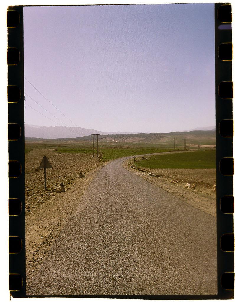 Landstraße in Marokko