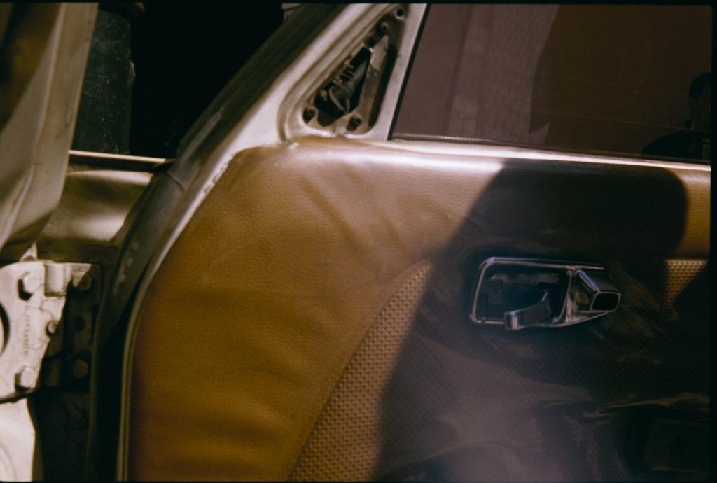 Altes Benz Taxi