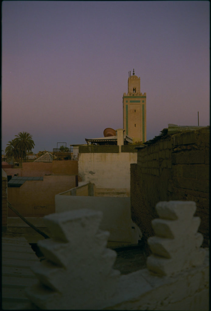 Abendliches Marrakech