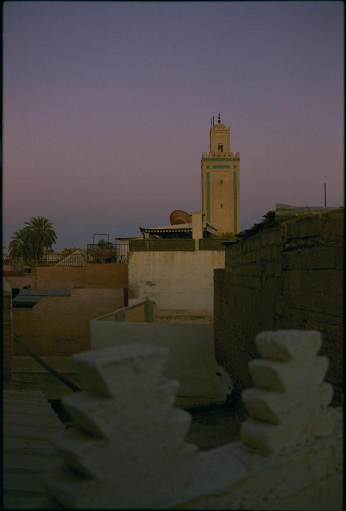 Abendliches Marrakech