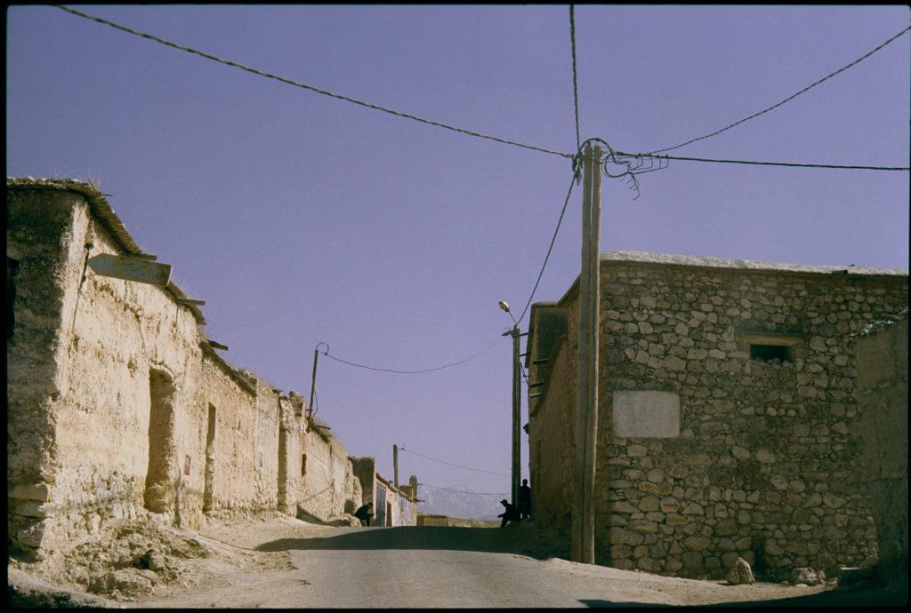 Bergdorf auf dem Weg in den Atlas Marokko