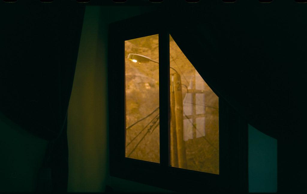 Fenster in Imlil Marokko