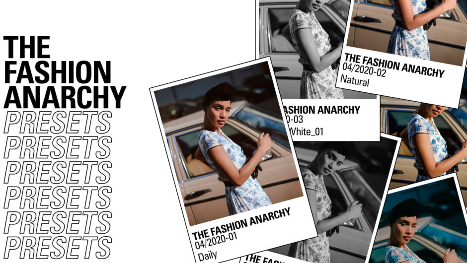 THE FASHION ANARCHY - Presets für Lightroom - Header
