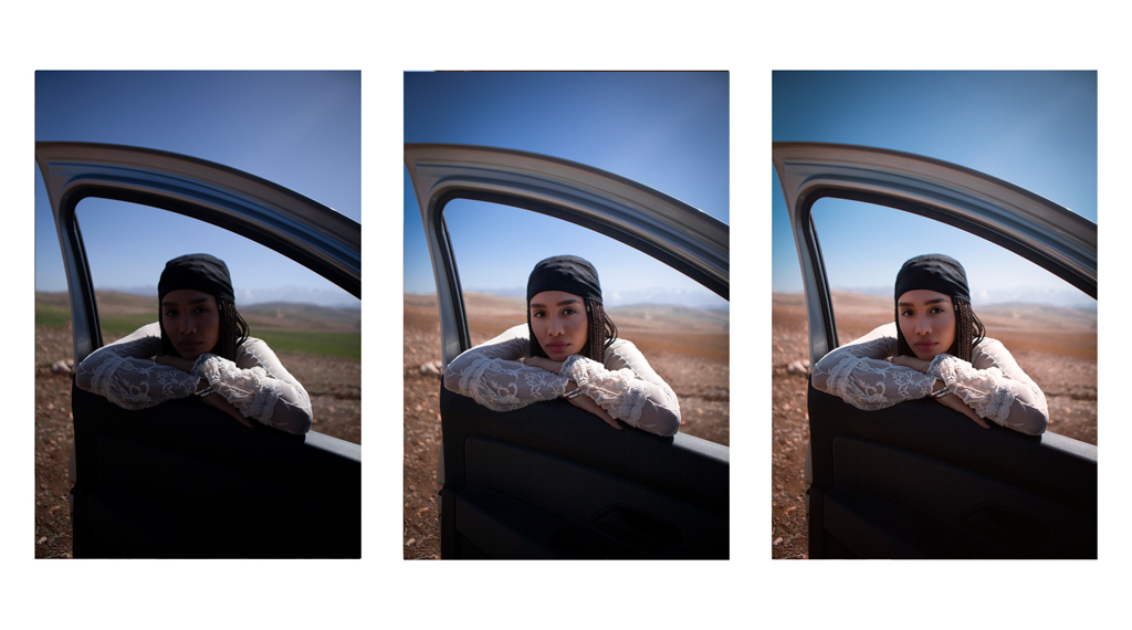 Bildbearbeitung - Vorher/Nachher Portrait